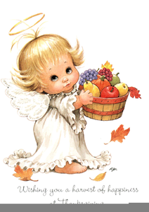 Clipart Angels Thanksgiving Image