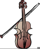 Cartoon Musical Instruments Clipart Image