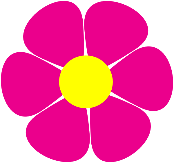Flower Power Daisy Clip Art at Clker.com - vector clip art ...