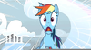 Rainbow Dash Screaming Image