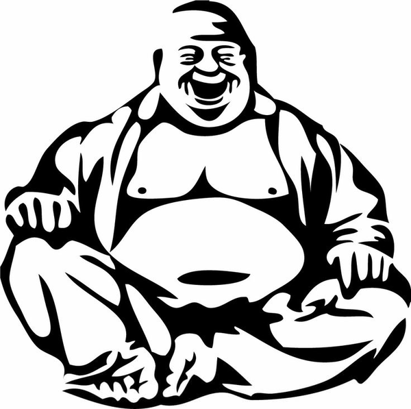 free laughing buddha clipart free images at clker com vector rh clker com bouddha clipart gautam buddha clipart