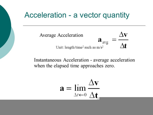 instantaneous acceleration formula free images at clker com