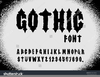 Clipart Gothic Letters Image