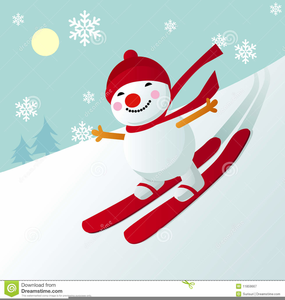 Skiing Images Clipart Image