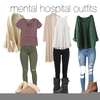 Mental Hospital Outfits Image