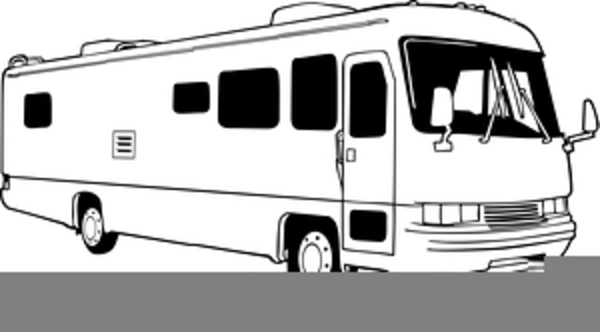 Motorhome Clipart Free Free Images At Clker Com Vector
