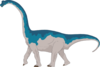 Walking Brachiosaurus Clip Art