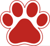 Paw Print Free Clipart Image