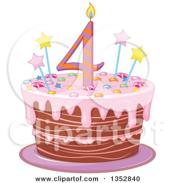 Birthday Cake Candles Clipart Free Images At Clker Com Vector