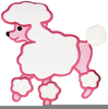 Pink Poodle Clipart Free Image