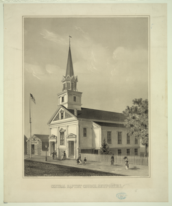 Central Baptist Church, Newport, R.i. Image