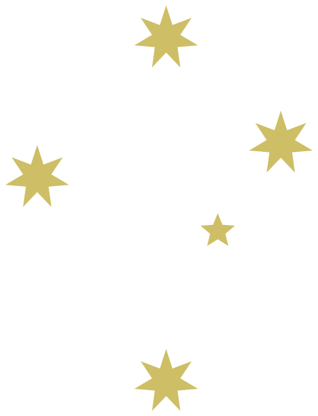 Gold white stars clip art at clker vector