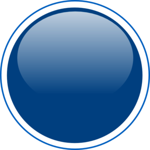 Glossy Blue Circle Button Md Image