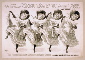 The Comedians World, Garnella, And Mack Image