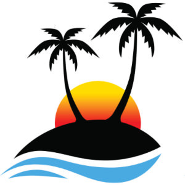 free clipart palm tree border free images at clker com vector rh clker com Flip Flop Border Tropical Border Clip Art