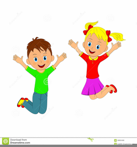 children jumping clipart free free images at clker com vector rh clker com jumping clipart free jump clipart