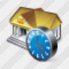 Icon Bank Clock Image