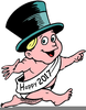 Free Animated New Years Clipart Image