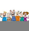 People Laughing Clipart Image
