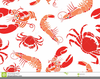 Lobster Crab Clipart Image