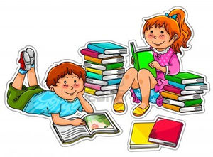 clipart of books with children reading free images at clker com rh clker com free clipart child reading a book