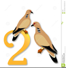 Free Clipart Two Turtle Doves Image
