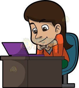 Free Cartoon Clipart Computers Image