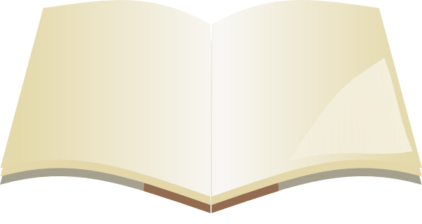 clipart open book blank pages - photo #10