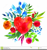Clipart Of Pansy Flowers Image