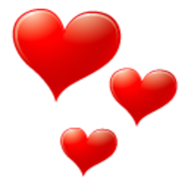 Red Heart Icon | Free Images at Clker.com - vector clip ...