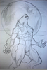 Werewolf Drawing Image