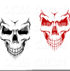 Free Skull With Bow Clipart Image