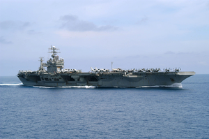 Uss Theodore Roosevelt (cvn 71) Underway Conducting Combat Missions In Support Of Operation Iraqi Freedom Image