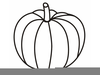 Free Clipart Pumpkin Outline Image