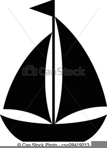 Sailboat Clipart Silhouette Image