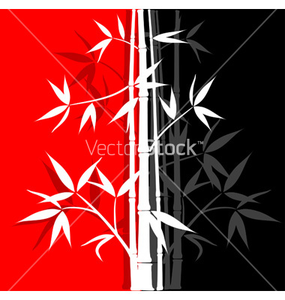 Bamboo Abstract Background Vector Vector Image