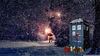 Christmas Dalek Wallpaper Image