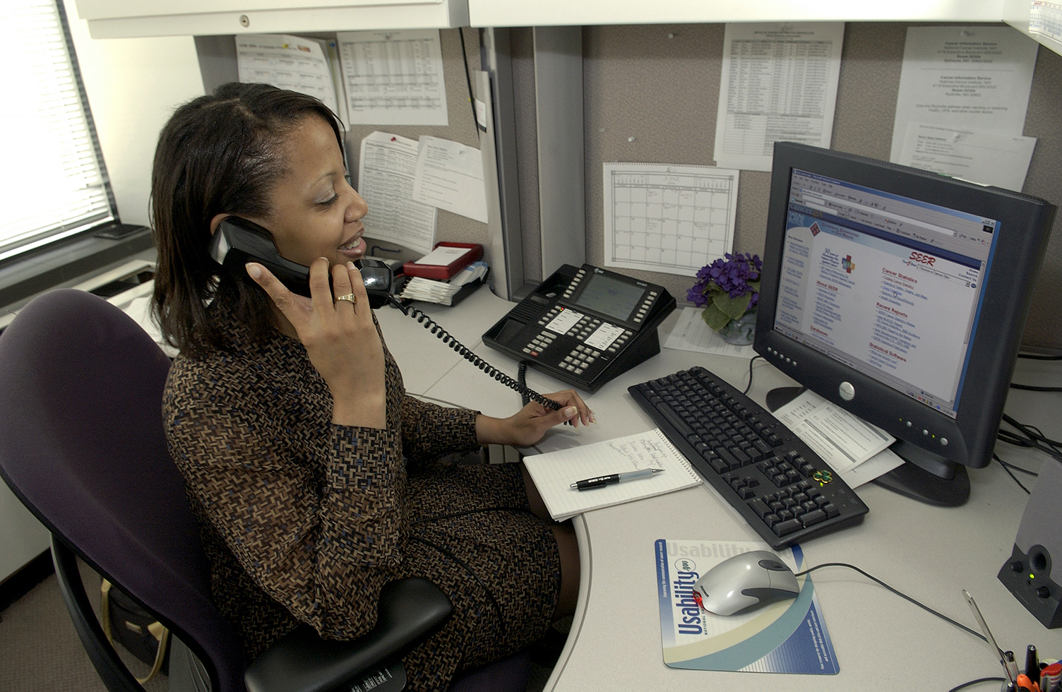 Secretary Answering Phone | Free Images at Clker.com - vector clip art ...