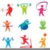Free Clipart Of Exercise Image