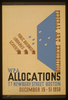 Federal Art Exhibition Wpa Allocations / Nason. Image