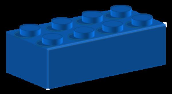 Lego Blue | Free Images at Clker.com - vector clip art ...