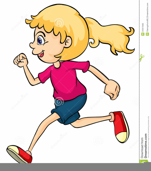 boy and girl running clipart free images at clker com vector rh clker com girl running clipart girl running track clipart