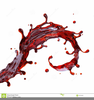 Free Red Wine Clipart Image