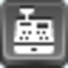 Free Grey Button Icons Cash Register Image