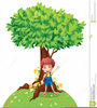 Clipart Boy With Flowers Image