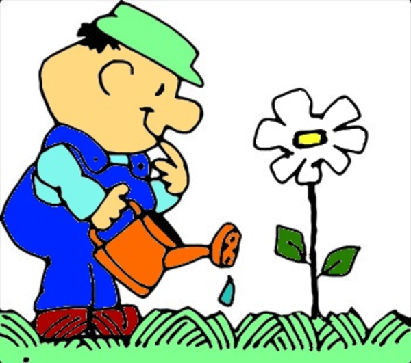Planting Flower | Free Images at Clker.com - vector clip ...