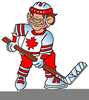 Hockey Player Clipart Free Image