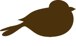 Brown Bird Clip Art