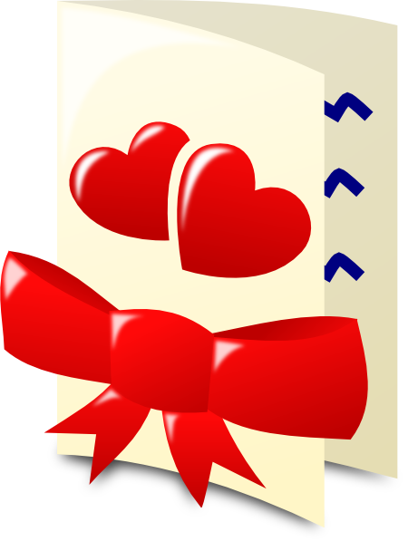 Valentine Card Clip Art At Clker Com Vector Clip Art Online