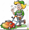 Cartoon Gardener Clipart Image